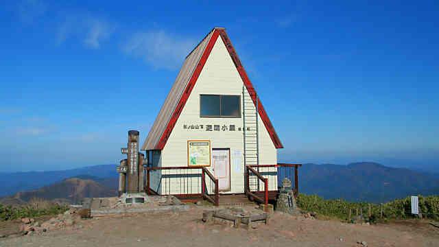 氷ノ山の山頂