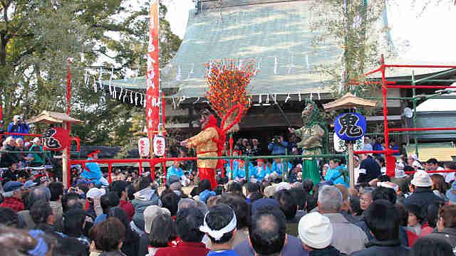 八正寺の鬼会式