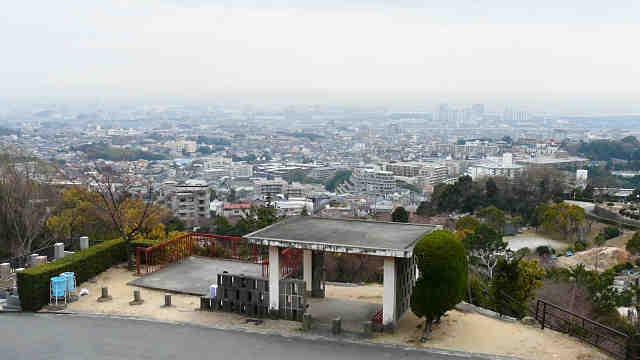 芦屋霊園の展望台