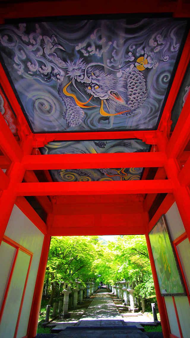 高山寺の山門(仁王門)