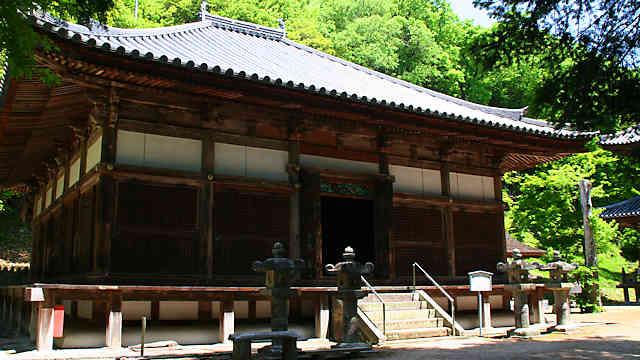 伽耶院の本堂