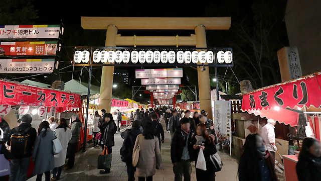 生田神社の初詣