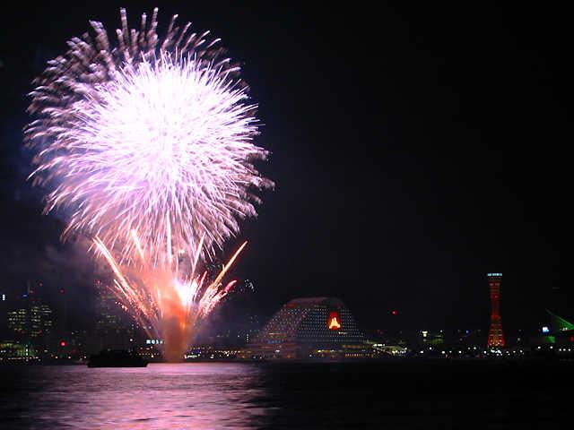 神戸ハーバーランドクリスマスの花火大会