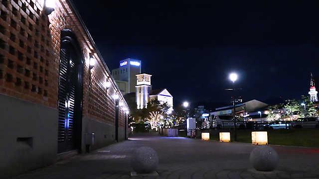 神戸煉瓦倉庫のライトアップ
