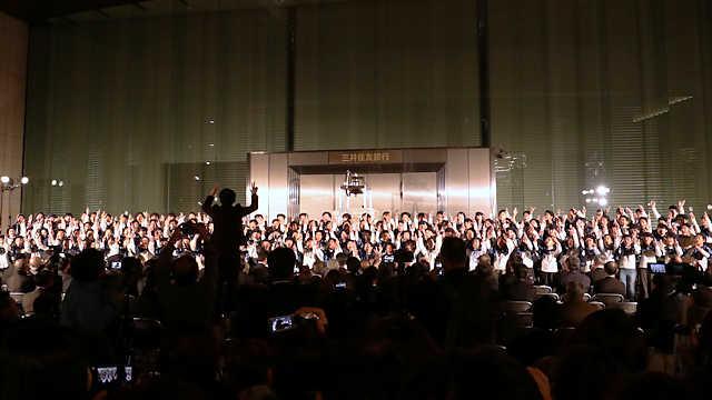神戸ルミナリエ2018点灯式