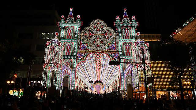 神戸ルミナリエ2018「フロントーネ~ガレリアコペルタ~ガレリア」