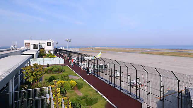 神戸空港「屋上展望デッキ」