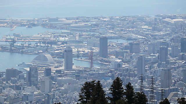 神戸港、メリケンパーク、ハーバーランド