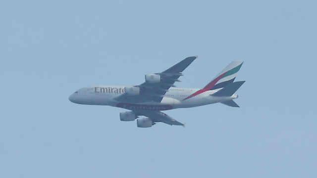 エミレーツ航空「エアバスA380」