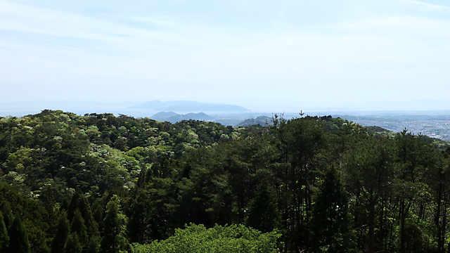 菊水山~鍋蓋山~再度山