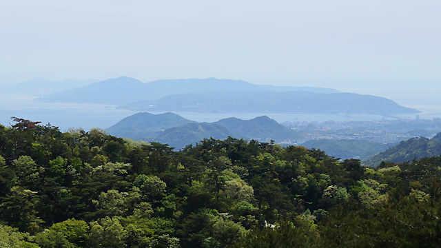 摩耶山天上寺からの眺め
