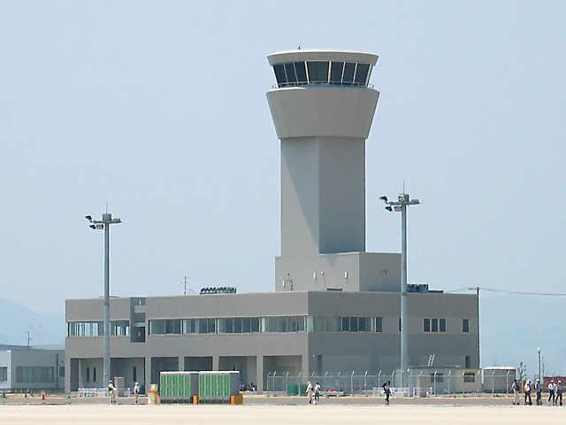 神戸空港「管制塔」