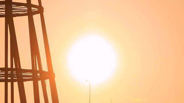 メリケンパークの夕日・夕景・夜景