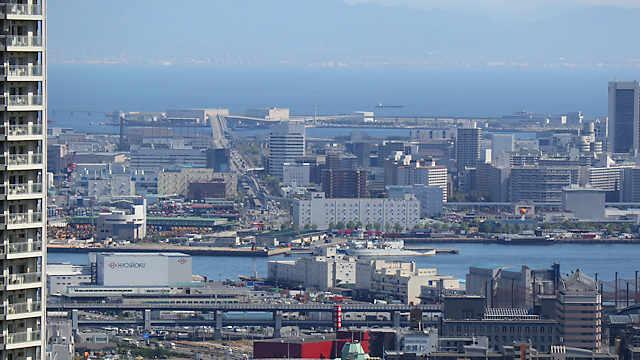 ポートアイランドと神戸空港
