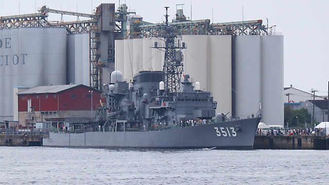 海上自衛隊練習艦「しまゆき」
