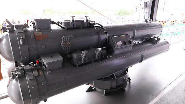 68式C 3連装短魚雷発射管