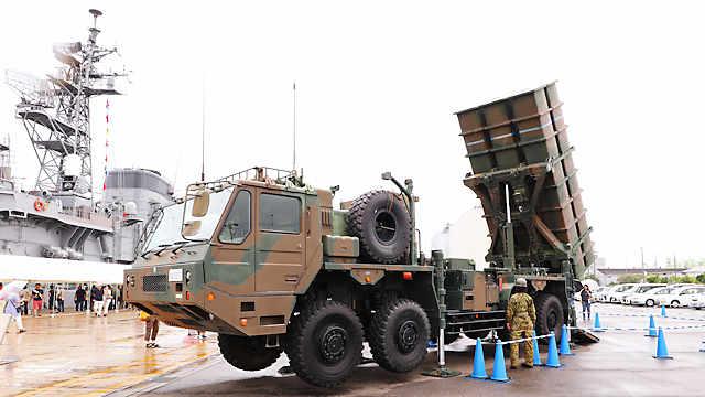 陸上自衛隊「03式中距離地対空誘導弾(中SAM)」