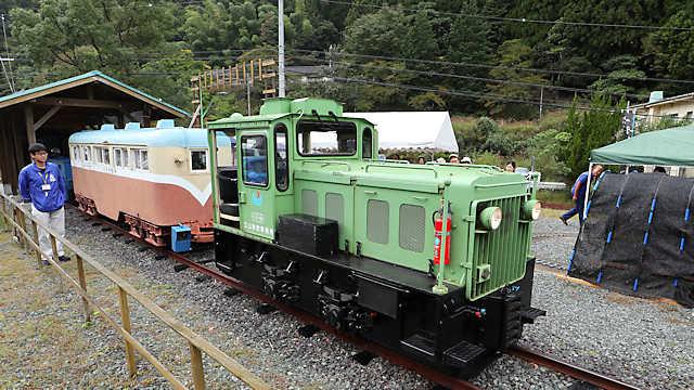 明延鉱山の明神電車「一円電車」