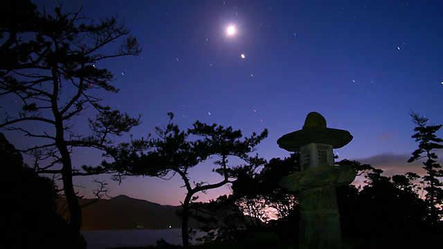 香住海岸・岡見公園の夜景