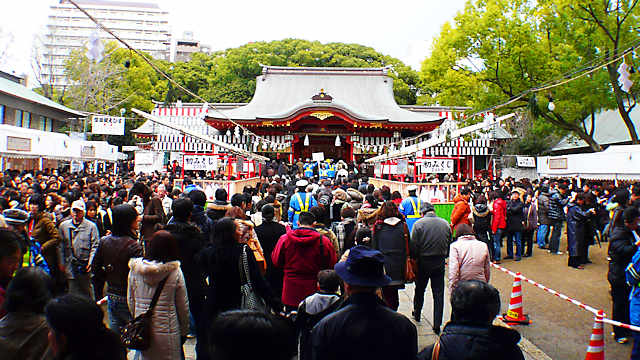 神戸・生田神社の初詣