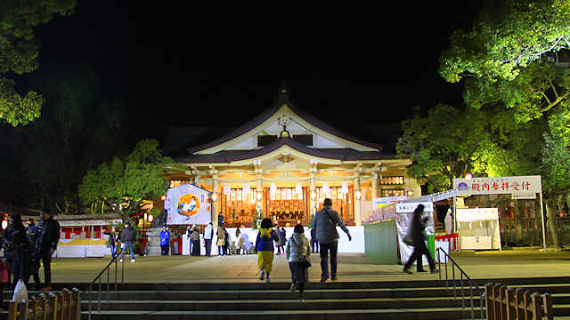 神戸・湊川神社の初詣