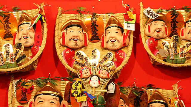 「柳原のえべっさん」柳原蛭子神社の十日えびす