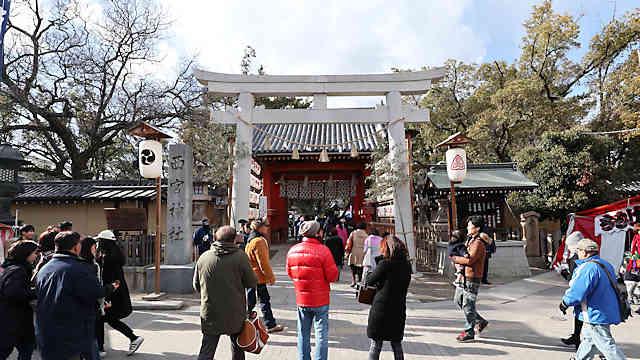 「西宮のえべっさん」西宮神社の十日えびす