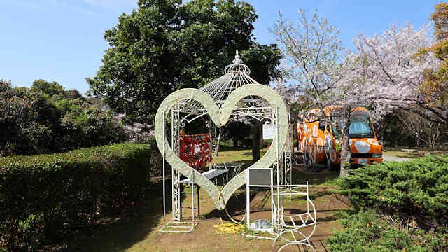 淡路島公園・ニジゲンノモリの恋人の聖地