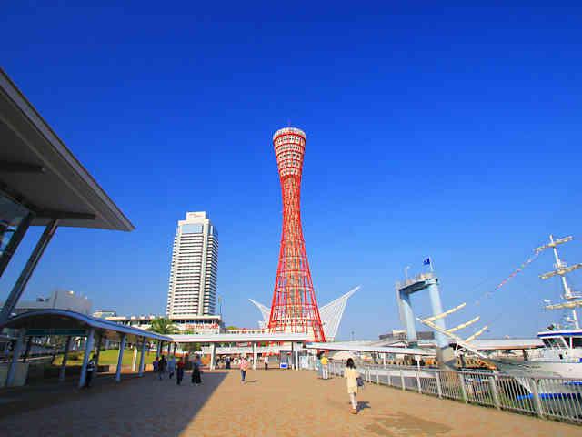 神戸ポートタワー(かもめりあ中突堤中央ターミナル)