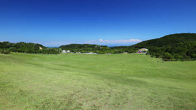 兵庫県立淡路島公園 大きな芝生広場