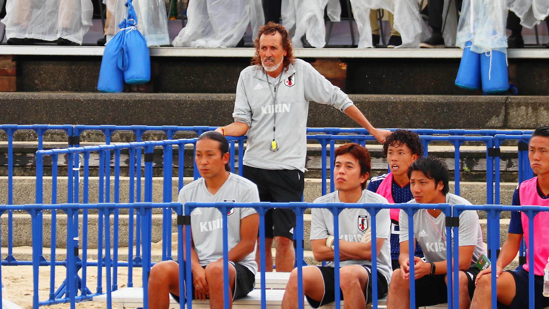 ビーチサッカー国際親善大会2019 大蔵海岸公園 大蔵海岸海水浴場