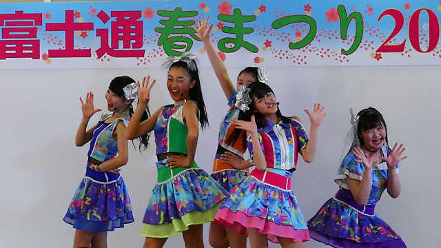 富士通春まつり YENA☆(イエナ)のライブ