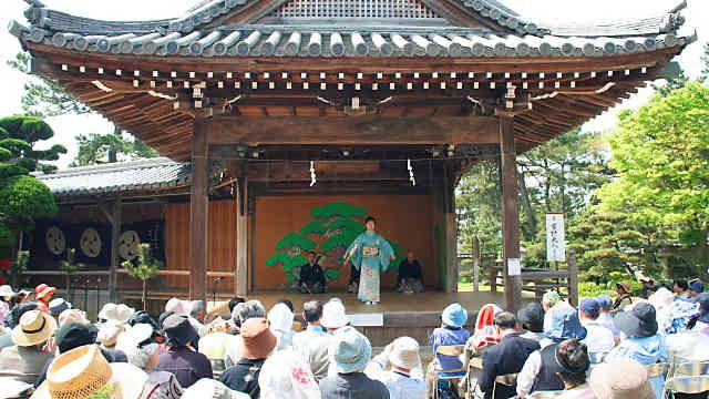 住吉神社奉納能楽会