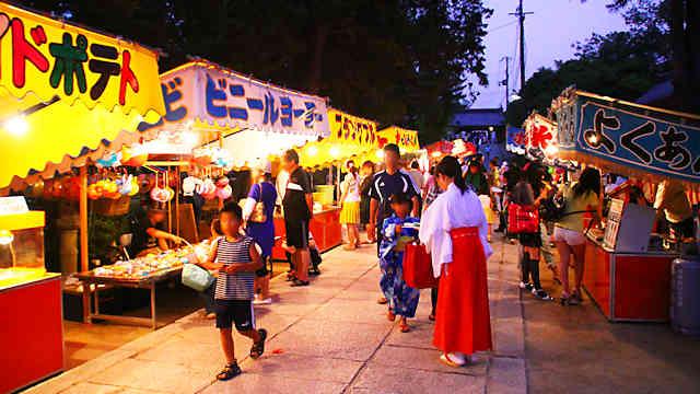 日岡神社夏越祭