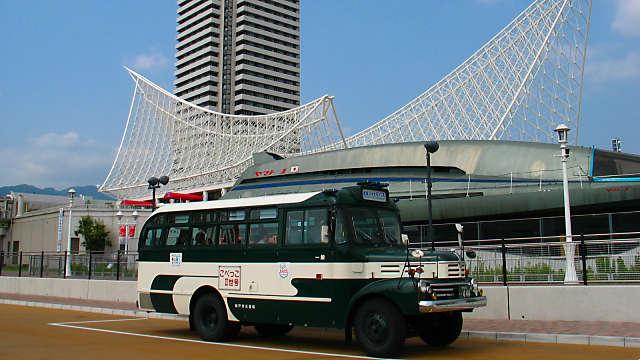 神戸ボンネットバス「こべっこⅡ世号」