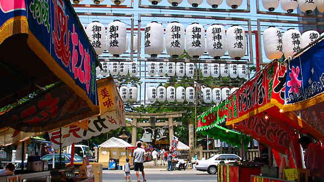 海神社夏祭り