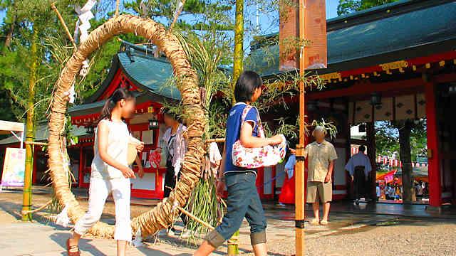 長田神社 夏越大祓式 茅ノ輪神事