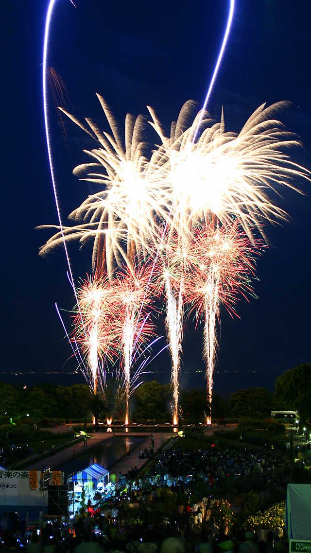 須磨音楽の森花火大会